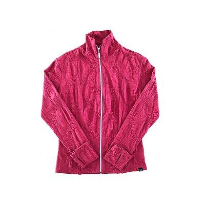 Jaqueta Vermelha Trilha Verão