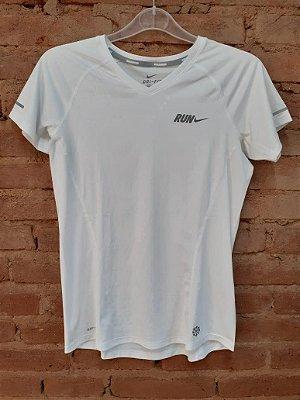 Blusa Dri Fit Branca Nike
