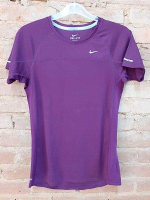 Blusa Dri Fit Vinho Nike