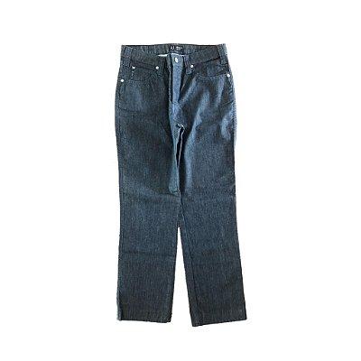 Calça Jeans com Aplique de Pedras no Bolso Traseiro Armani Jeans