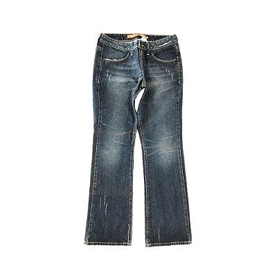 Calça Jeans com Riscas Siberian