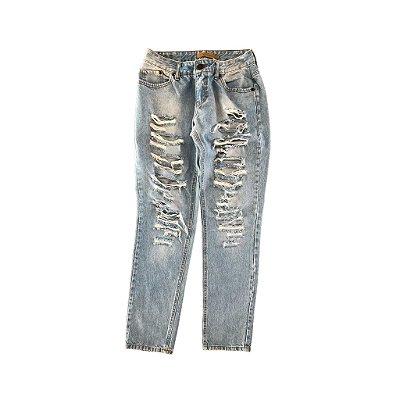 Calça Jeans Clara Rasgada Sly