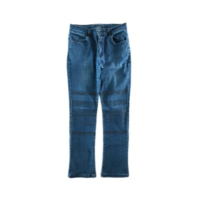 Calça Jeans com Detalhe em Joelhos Le Lis Blanc