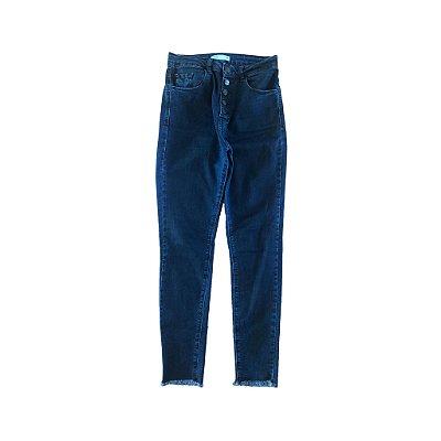 Calça Jeans Skini Cintura Alta Blue Steel
