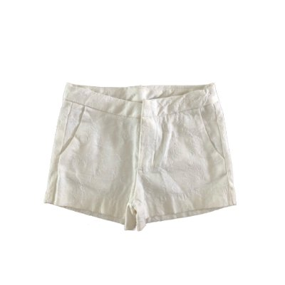 Shorts Branco com Arabescos Zara Kids