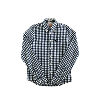 Camisa Xadrez Azul e Branca