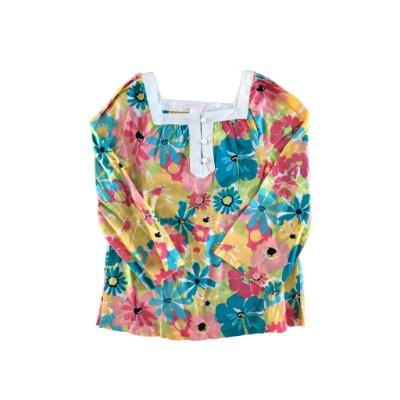Blusa Estampa Flores Janie and Jack
