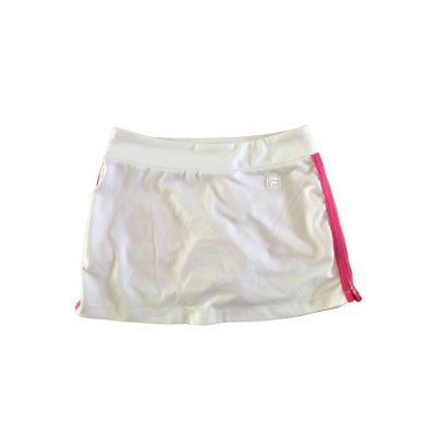 Shorts Saia Branco e Rosa Fila