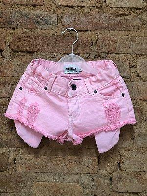 Shorts Jeans Rosa Mini Urban Style