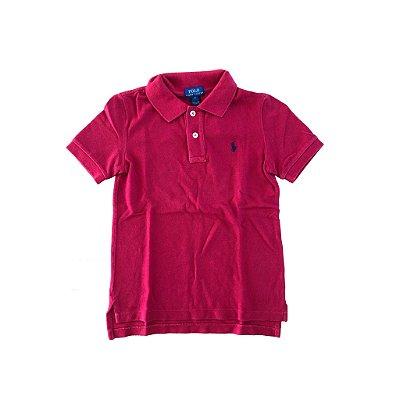 Camisa Polo Vermelha Ralph Lauren