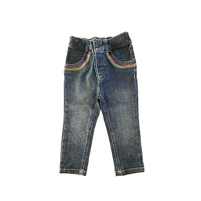 Calça Carter's Infantil Jeans com Bordado no Bolso