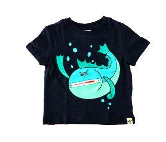 Camiseta com Estampa Peixe