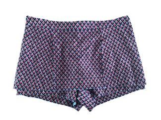 Shorts Saia Le Lis Blanc Feminino Laranja e Preto