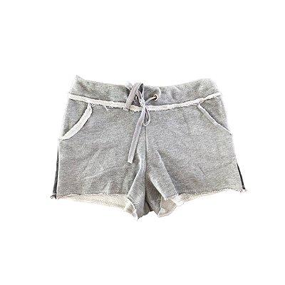 Shorts COSTUME Cinza em Moletom