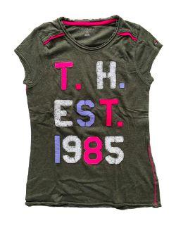 Camiseta Tommy Hilfiger Verde Musgo 1985