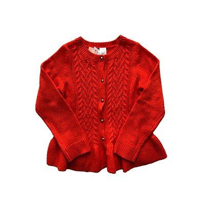Casaco Gymboree Tricot Vermelho