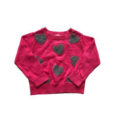 Malha Oshkosh Pink corações