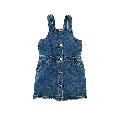 Jardineira Zara Girls Jeans