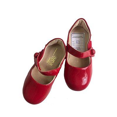 Sapato Boneca Bibi Infantil Vermelho