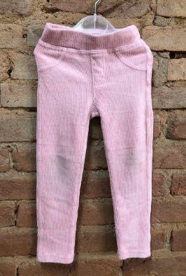 Legging Póim Rosa Veludo
