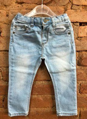 Calça Zara Infantil Jeans Claro