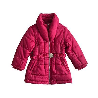 Jaqueta Chicco Infantil Nylon Pink