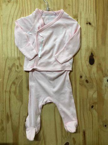 Conjunto Ralph Lauren Infantil Rosa (Pijaminha)