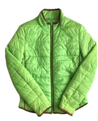 Casaco Feminino Verde em Nylon