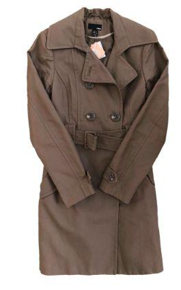 Trench Coat H&M Feminino Marrom