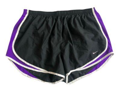 Shorts Nike Feminino Preto e Roxo