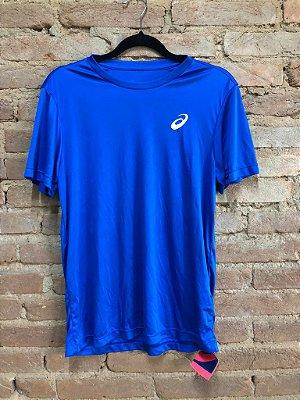 Blusa Asics Masculina Azul Royal com Etiqueta