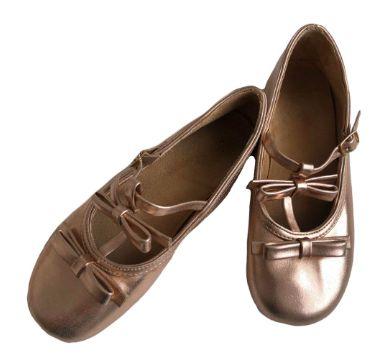 Sapatilha Infantil Bronze