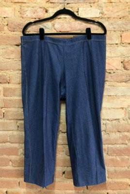 Legging FUCSIA Imitando Jeans