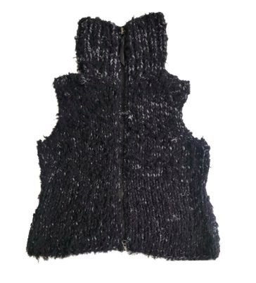 Colete Osklen Feminino Preto em Lã
