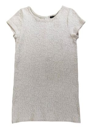 Vestido Zara Feminino Off White