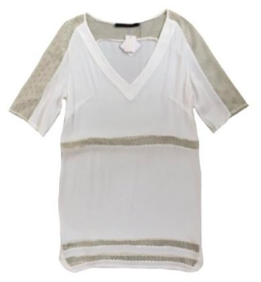 Vestido ANIMALE Branco com Tela