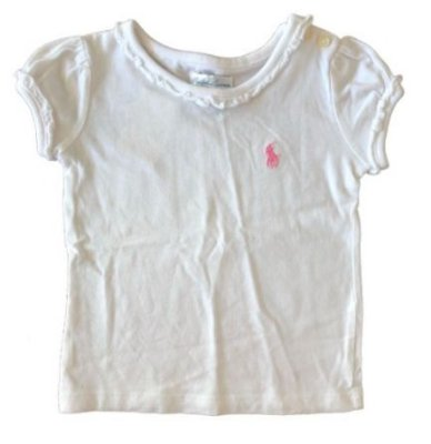 Camiseta RALPH LAUREN Infantil Branca