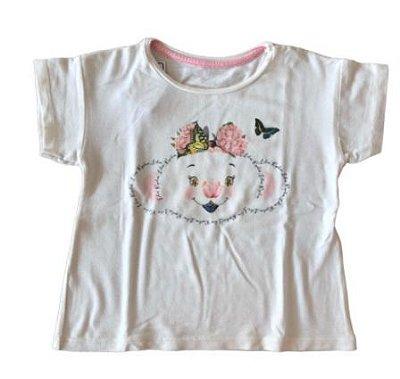 Camiseta LILICA RIPILICA Infantil Branca