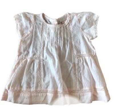 Vestido Zara Infantil Rosa