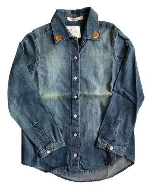 Camisa Jeans LE LIS BLANC Infantil Raposa