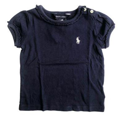 Camiseta RALPH LAUREN Infantil Azul Marinho