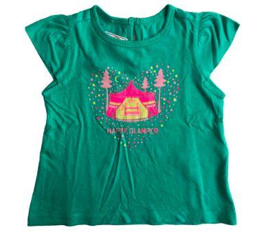 Camiseta TOMMY HILFINGER Infantil Verde Circo