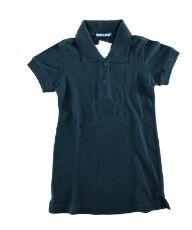 Camiseta Polo TRACK&FIELD Infantil Preta