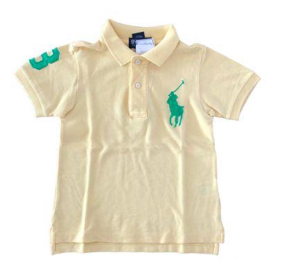 Polo RALPH LAUREN Infantil Amarela