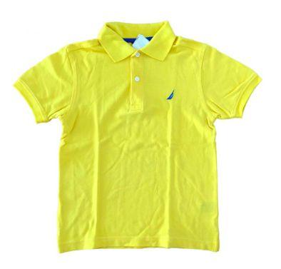 Polo NAUTICA Infantil Amarela