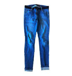 Calça ANIMALE Jeans Skinny com Cintura em Preto