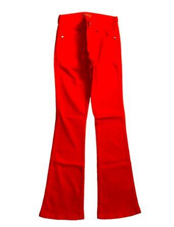 Calça MOB  Laranja Jeans Flare