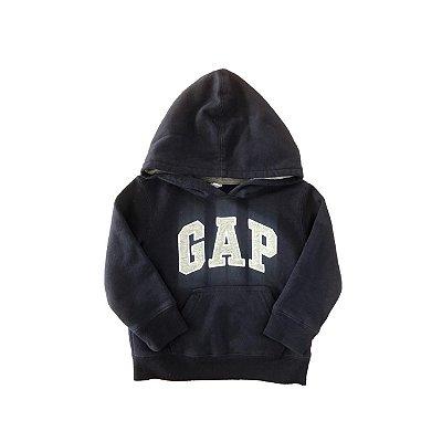 Moletom Baby Gap Azul Marinho com Capuz