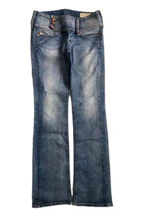 Calça DIESEL Jeans Clara com rasgo em Joelho