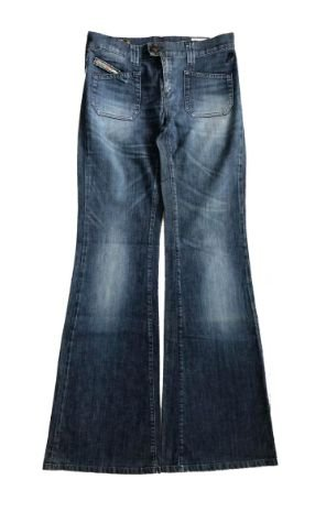 Calça DIESEL Feminina Flare Jeans